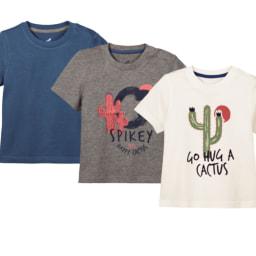 Lupilu® T-shirt para Menino 3 unid.