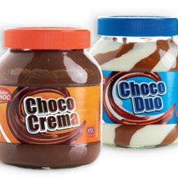 Cremes selecionados para barrar MISTER CHOC®