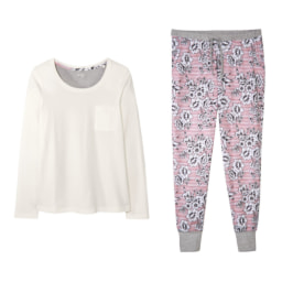 ESMARA® Pijama para Senhora