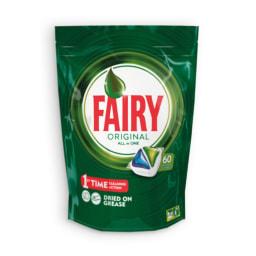 FAIRY® Pastilhas para Máquina All-In-One