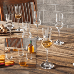 HOME CREATION® Copos para Whisky/ Grappa