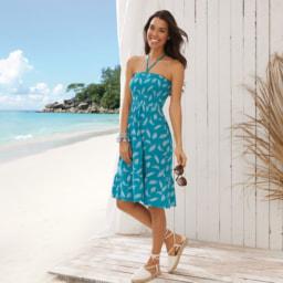 UP2FASHION® Vestido de Praia para Senhora