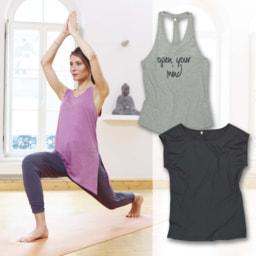 T-shirt/Camisola de Alças Yoga para Senhora