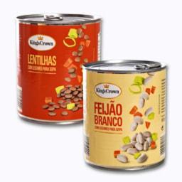 Lentilhas/Feijão Branco