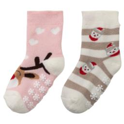 Lupilu®/ Pepperts® Meias de Natal para Criança