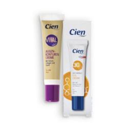 CIEN® Creme Contorno de Olhos Anti-Rugas Q10 / Vital