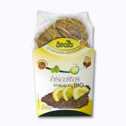 Biscoitos de Limão e Chia BIO