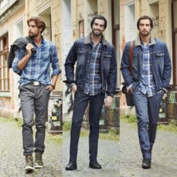 Calças Vintage para Homem