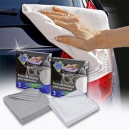 Panos de Limpeza para Automóvel
