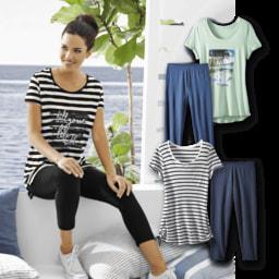 UP2FASHION® T-Shirt com Leggings