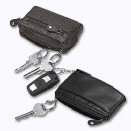 Porta-chaves em Couro