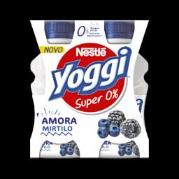 Yoggi Iogurte Líquido 0% Amora e Mirtilo