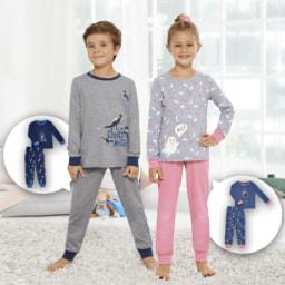 POCOPIANO® Pijama Brilha no Escuro para Criança