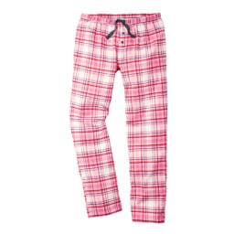 Calças de Pijama em Flanela para Senhora