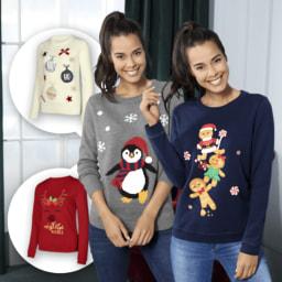 UP2FASHION® Camisola de Natal