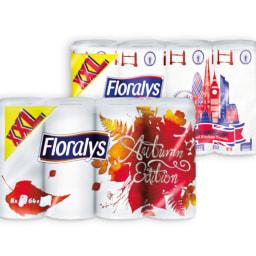 FLORALYS® Rolo de Cozinha com Desenhos 2 Folhas