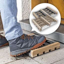 HOME CREATION® Tapete para Limpar Sapatos