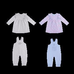 POCOPIANO® Vestido/ Macacão para Bebé