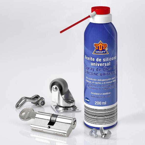 TOP CRAFT® Spray de Óleo de Silicone