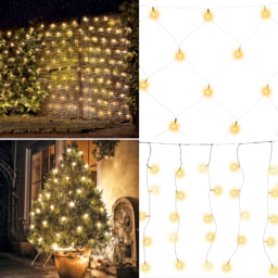 LIGHTZONE® Cortina/ Rede de Luzes LED