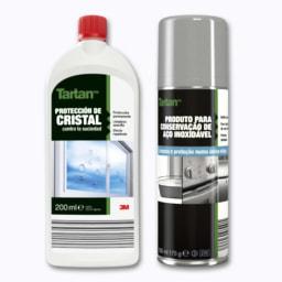 Proteção de Vidros/Conservação Aço Inox