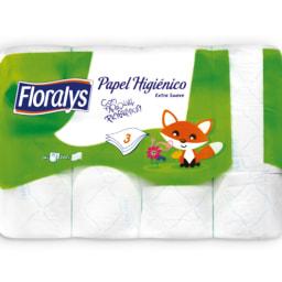 FLORALYS® Papel Higiénico 3 Folhas