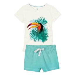 Pijama curto para criança