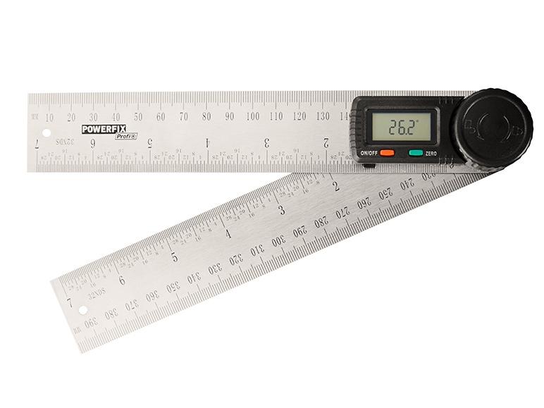 Paquímetro/Medidor de Ângulos Digital