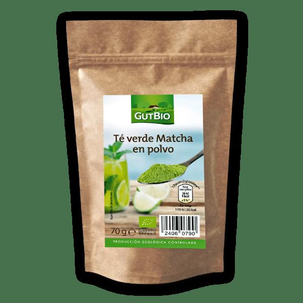 GUT BIO® Chá Matcha Biológico em Pó