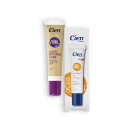 CIEN® Creme Contorno de Olhos Antirrugas Q10 / Vital