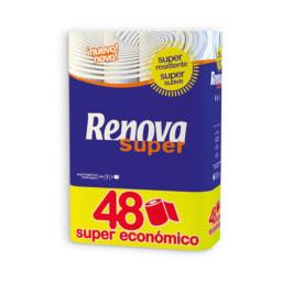RENOVA® Papel Higiénico Super 2 Folhas
