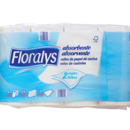 Floralys® Rolos de Cozinha 2 Folhas