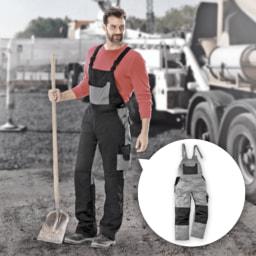 ACTIVE TOUCH® Jardineiras de Trabalho para Homem