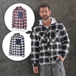 ACTIVE TOUCH® Camisa Térmica de Flanela para Homem