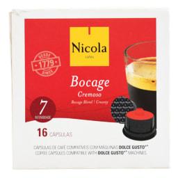 Nicola®  Cápsulas de Café Rossio / Mundi / Bocage