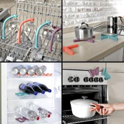 HOME CREATION® Utensílios de Cozinha em Silicone