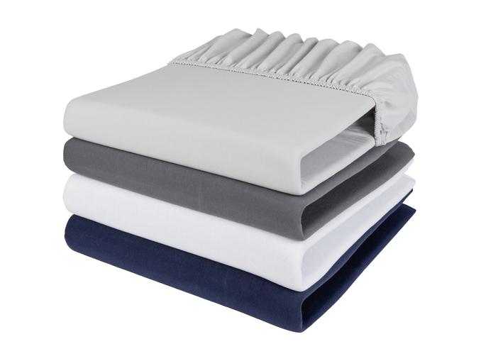 Livarno Home® Lençol Ajustável 180-200x200x25 CM