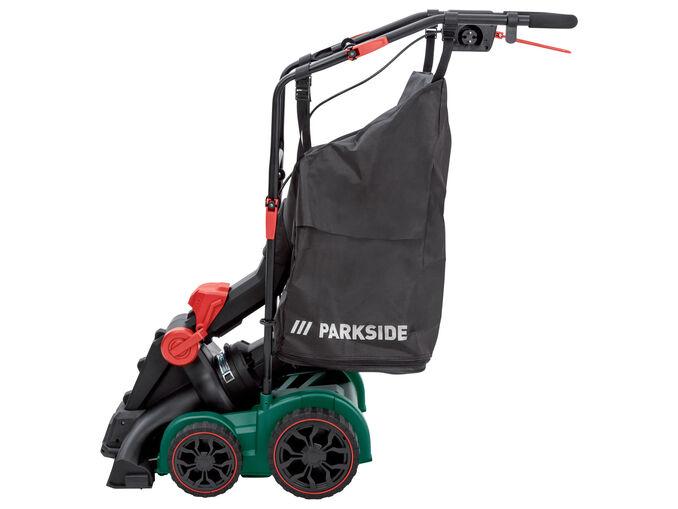 Parkside® Aspirador/ Soprador Folhas Elétrico 1800 W