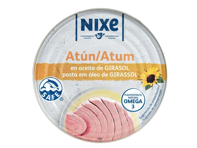 Nixe® Atum Posta em Óleo de Girassol