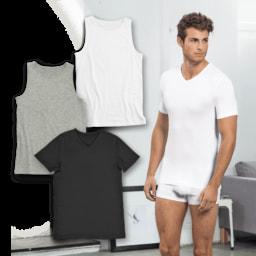ENRICO MORI® T-Shirt Interior para Homem
